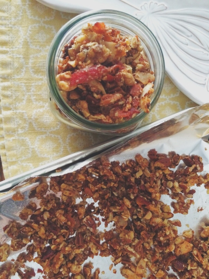 Maple Bacon Granola