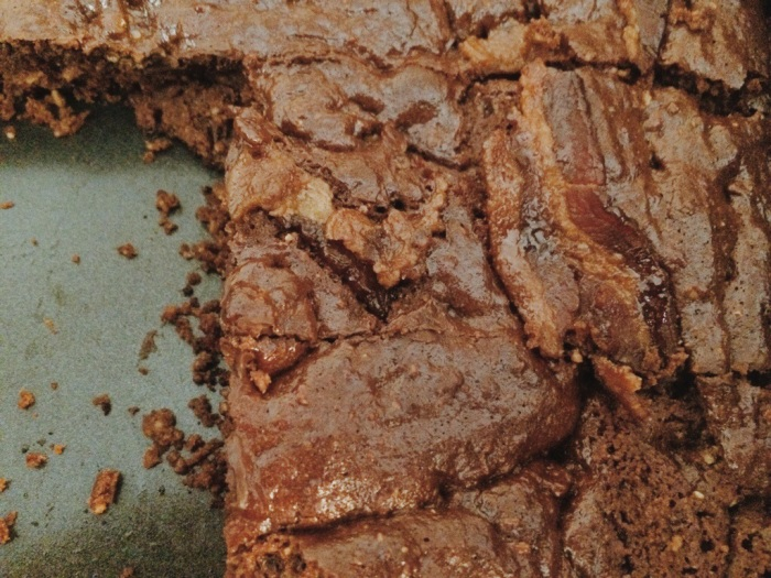 Candied Bacon Chocolate Brownies; recipe from The Paleo Kitchen cookbook