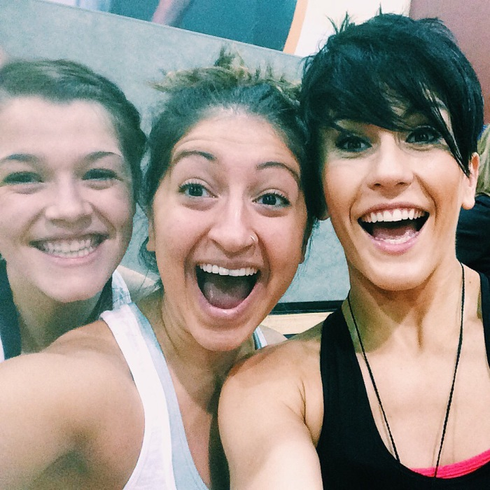 Nikki is like the queen of Grit and it was so cool to get to take a class from her!